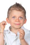 chłopiec śmieszna Fotografia Royalty Free