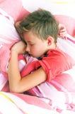 chłopiec śpi zdjęcia stock