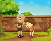 Chłopiec royalty ilustracja