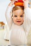 Chłopiec bawić się indoors Fotografia Stock