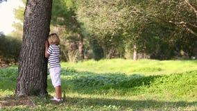 Chłopiec bawić się kryjówkę aport - i - zbiory