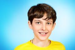 chłopiec beztroska Zdjęcie Royalty Free