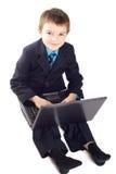 chłopiec biznes Zdjęcia Stock