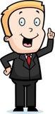 chłopiec biznes Fotografia Royalty Free