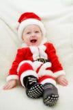 chłopiec boże narodzenia Fotografia Royalty Free