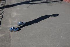 Chłopiec buty Obraz Stock