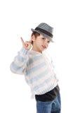 chłopiec chłodno zdjęcie royalty free