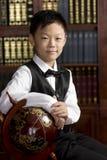 chłopiec chińczyk Zdjęcia Royalty Free