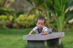 chłopiec chińczyk Zdjęcie Stock