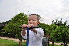 chłopiec chińczyk Obraz Royalty Free