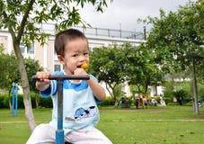 chłopiec chińczyk Fotografia Royalty Free