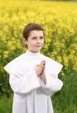 chłopiec chrześcijanin Obrazy Royalty Free