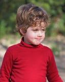 chłopiec czerwieni waistcoat obraz royalty free