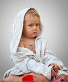 chłopiec dopłynięcie Obraz Royalty Free