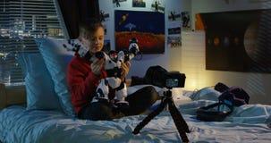 Chłopiec ekranizacji przegląd zabawkarski robot zbiory wideo