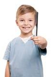 chłopiec grępla Zdjęcie Stock