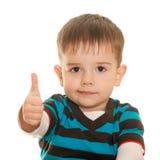 chłopiec grzywna Fotografia Stock