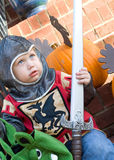 chłopiec Halloween Fotografia Royalty Free