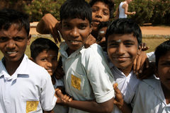 chłopiec indyjskie Zdjęcia Royalty Free