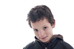 chłopiec ja target1806_0_ śliczny Obrazy Royalty Free