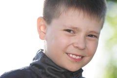 chłopiec ja target2231_0_ Fotografia Stock