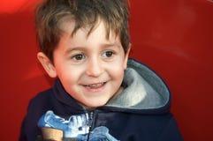chłopiec ja target262_0_ Zdjęcie Stock
