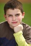 chłopiec ja target898_0_ fotografia royalty free