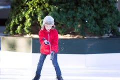 Chłopiec jazda na łyżwach Zdjęcie Royalty Free