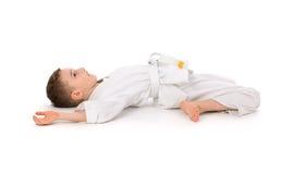 chłopiec karate fotografia stock