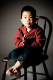 chłopiec koreańczyk Obraz Royalty Free