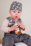 chłopiec mała Obrazy Stock