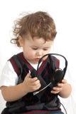 chłopiec mała Zdjęcia Stock