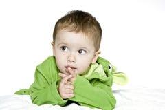 chłopiec mały śliczny Zdjęcia Royalty Free