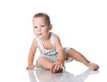 chłopiec mały śliczny fotografia royalty free
