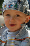 chłopiec mały śliczny Obraz Royalty Free