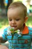 chłopiec mały śliczny Obrazy Royalty Free