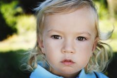 chłopiec mały śliczny Zdjęcia Stock