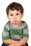 chłopiec mały portret Obraz Royalty Free