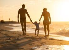chłopiec mały rodzinny szczęśliwy fotografia stock