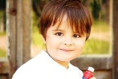 chłopiec mały szczęśliwy fotografia royalty free