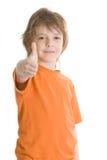 chłopiec mały szczęśliwy Obrazy Stock