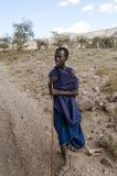 Chłopiec masai Mara Obraz Royalty Free