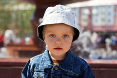 chłopiec nakrętka Obraz Stock