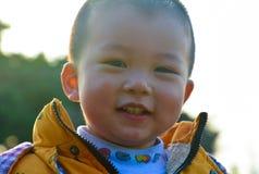 Chłopiec narastająca up w słońcu obrazy stock