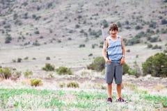 chłopiec nastolatek Zdjęcia Royalty Free