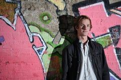chłopiec nastoletnia Zdjęcie Stock