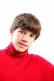chłopiec nastoletnia Obrazy Royalty Free