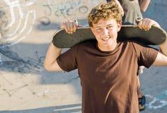 chłopiec nastoletnia fotografia royalty free
