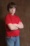 Chłopiec nastoletnia chłopiec Obrazy Stock