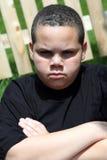 chłopiec nieszczęśliwa Fotografia Stock